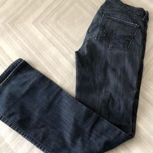 Citizens of Humanity Wide Leg Worn Jeans